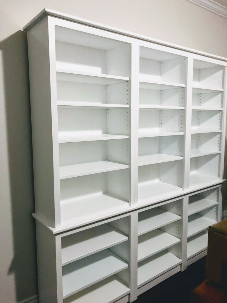 Large custome bookcase